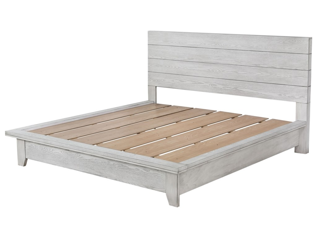 Belfort Essentials White SandsKing Bed