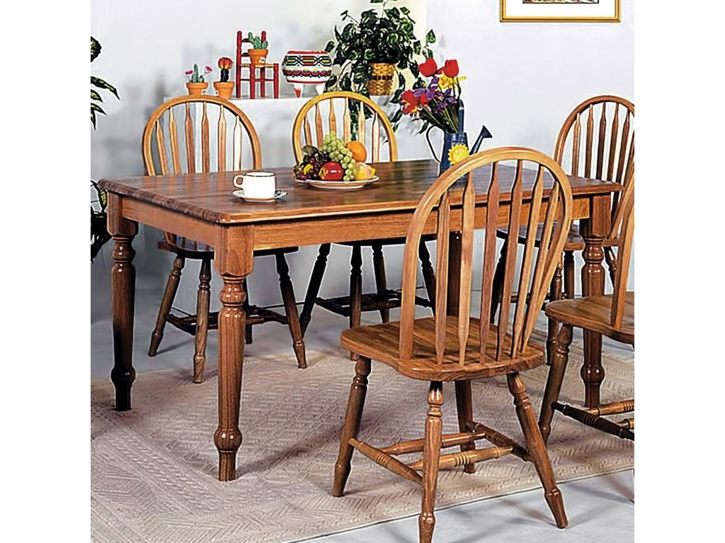 Windsor Solid Dining Table