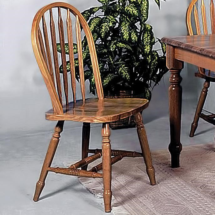 Merveilleux Crown Mark Windsor Solid Spindle Back Dining Side Chair
