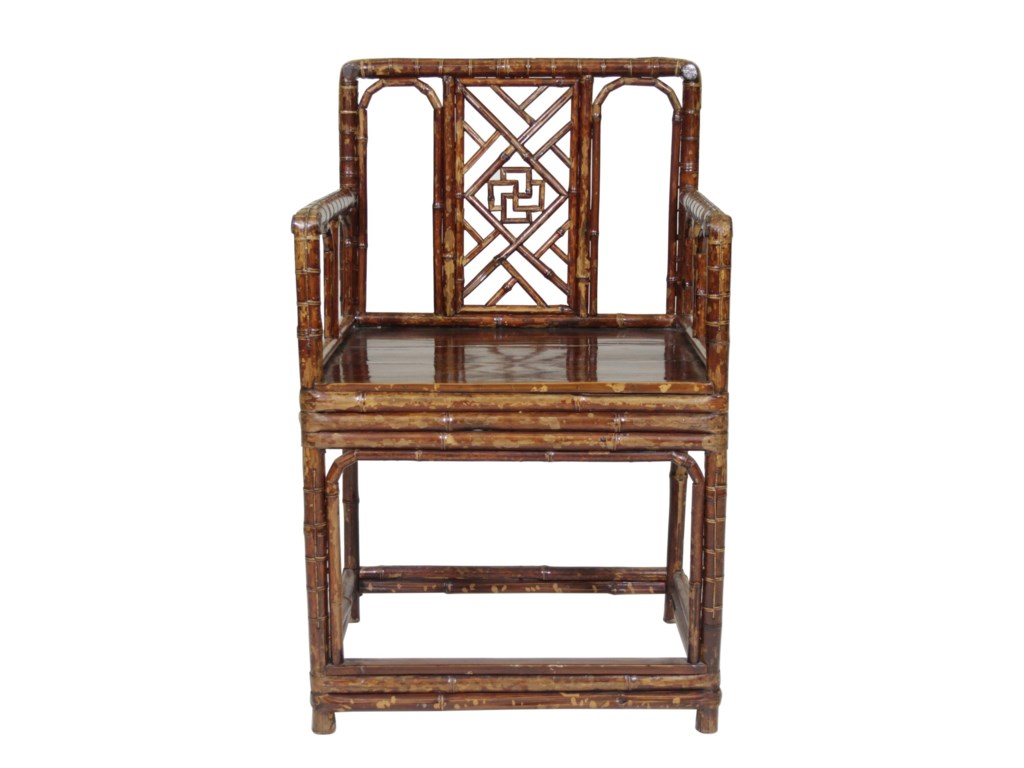 C.S. Wo & Sons Antiques  Arm Chair
