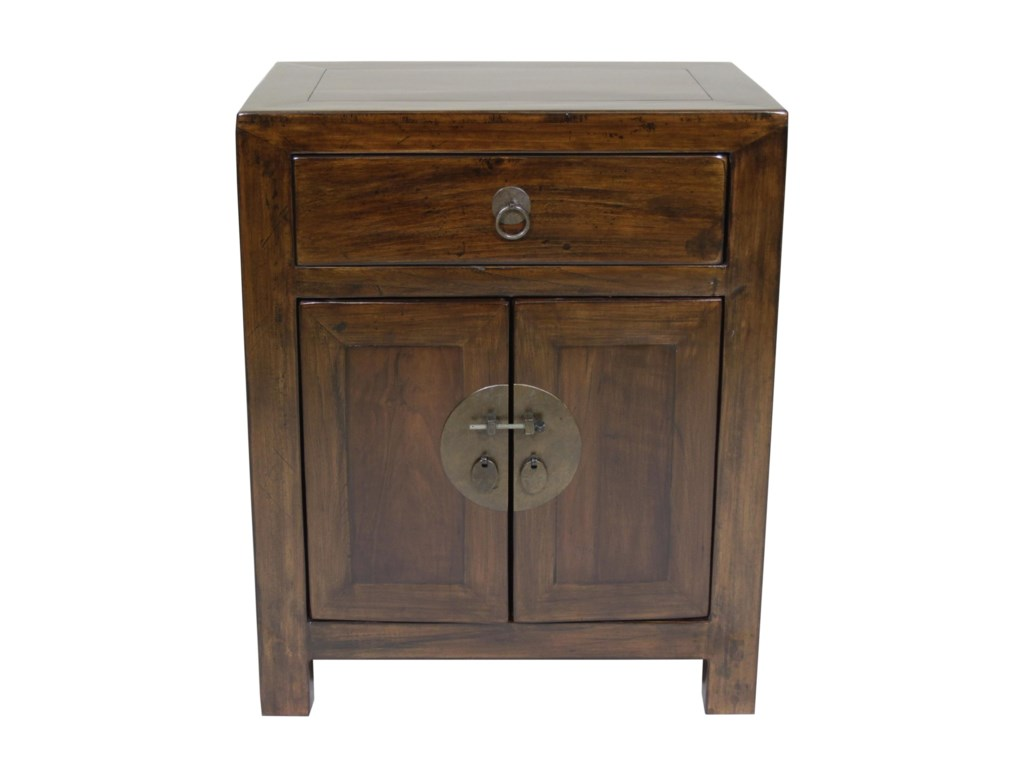 C.S. Wo & Sons Antiques  Bedside Cabinet