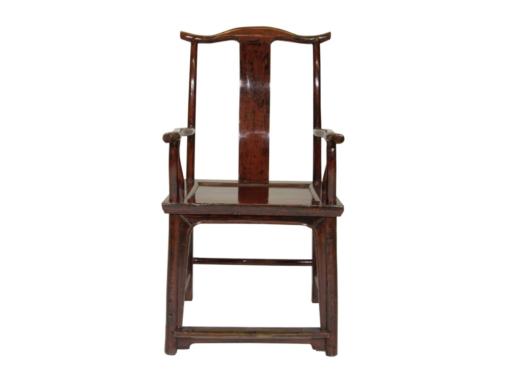 C.S. Wo & Sons Antiques  Yoke Back Chair