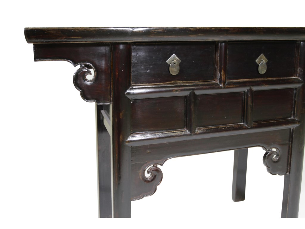 C.S. Wo & Sons Antiques  Altar Coffer