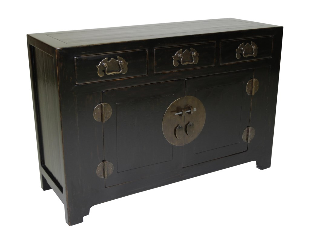 C.S. Wo & Sons Antiques  Side Cabinet