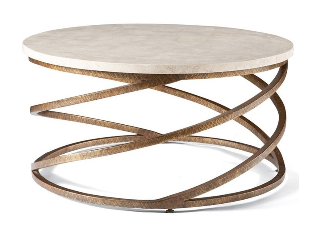 CTH Sherrill Occasional Masterpiece - BoingRound Cocktail Table