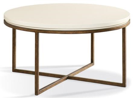CTH Sherrill Occasional Metro Classics Contemporary Round Cocktail Table