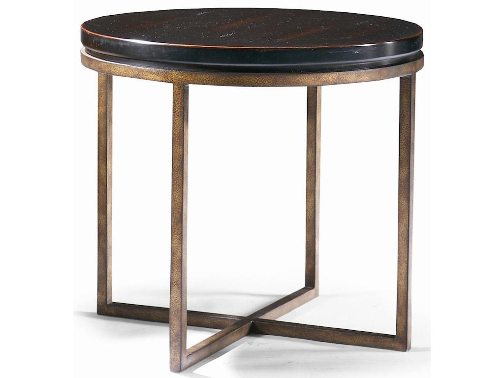 CTH Sherrill Occasional Metro ClassicsRound Lamp Table