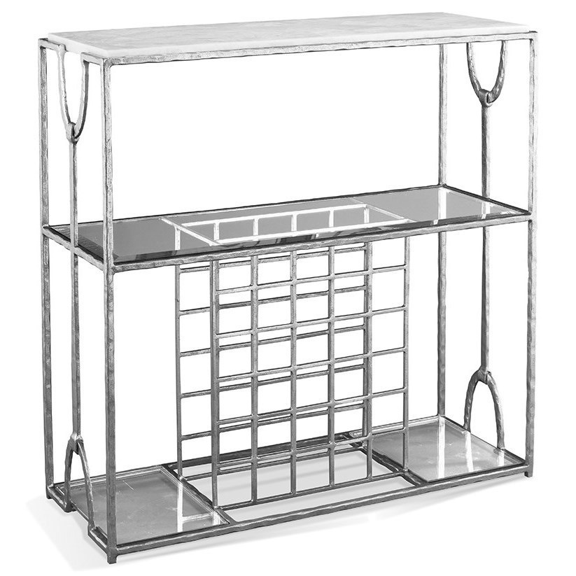 CTH Sherrill Occasional TrifectaWine Console ...