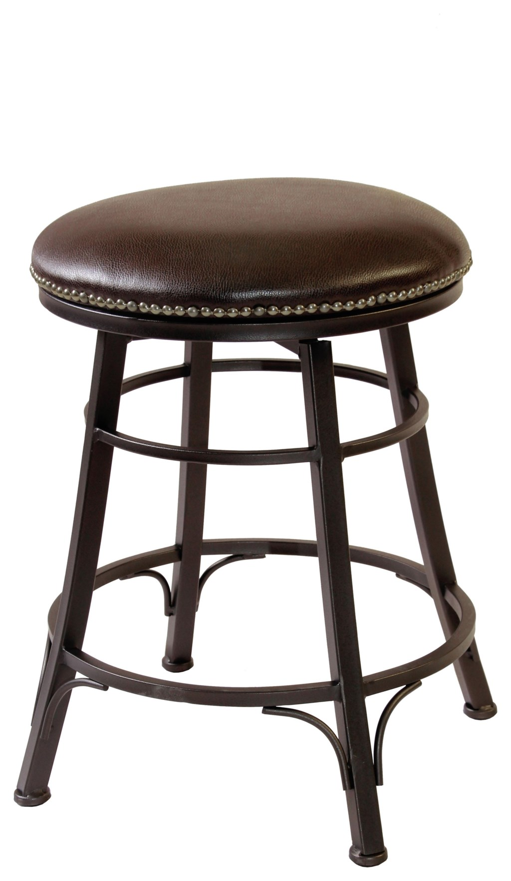 Cym Furniture Barstools Swivel Metal Backless Barstool Conlins