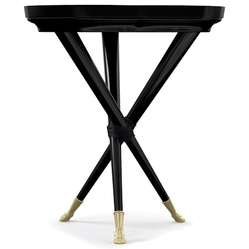 Cynthia Rowley for Hooker Furniture Cynthia Rowley - Curious Lucky Clover Accent Table