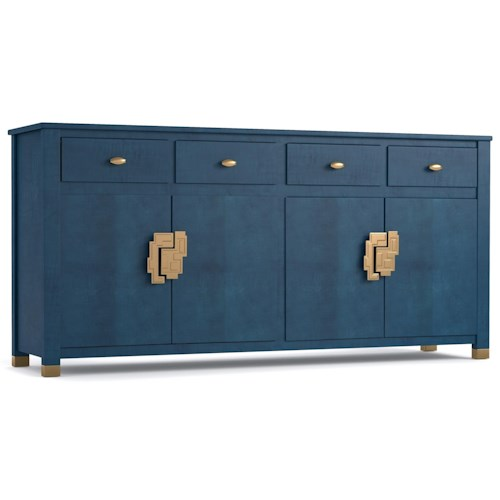 Cynthia Rowley for Hooker Furniture Cynthia Rowley - Curious Curiosity Credenza