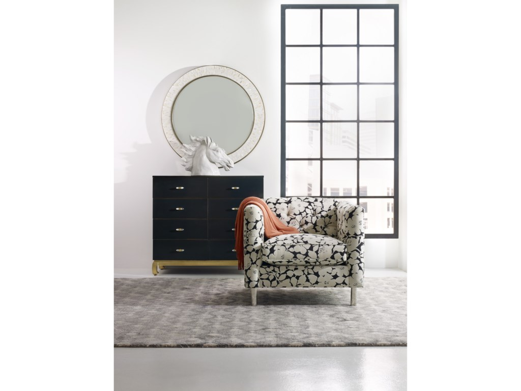 Cynthia Rowley for Hooker Furniture Cynthia Rowley - CuriousThe Poet Eight-Drawer Dresser