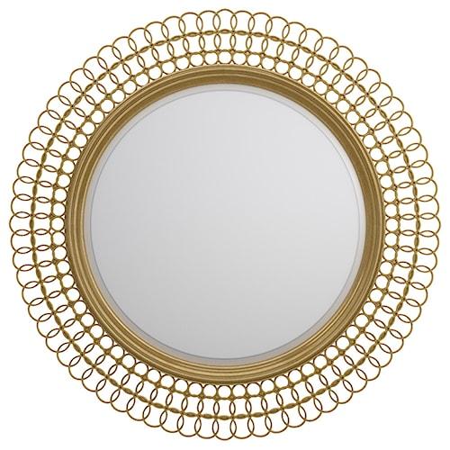 Cynthia Rowley for Hooker Furniture Cynthia Rowley - Curious Bangle Round Mirror