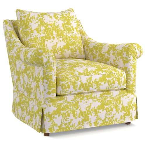 Cynthia Rowley for Hooker Furniture Cynthia Rowley - Pretty Upholstery Thompson Chair