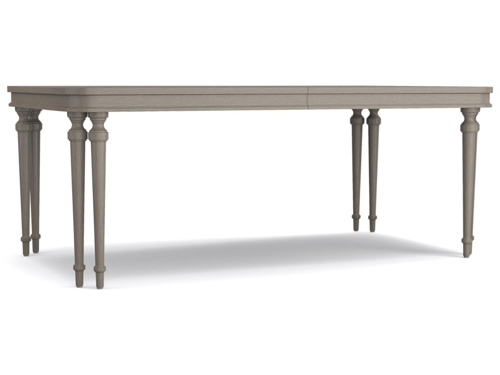 Cynthia Rowley for Hooker Furniture Cynthia Rowley - PrettyDinner at Eight Dining Table with Leaves