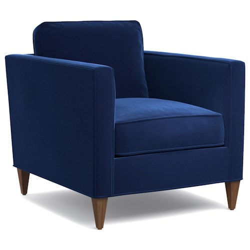 Cynthia Rowley for Hooker Furniture Cynthia Rowley - Sporty Upholstery Bleecker Club Chair