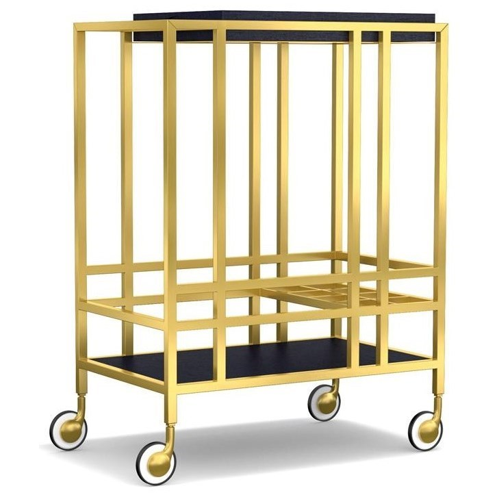 Cynthia Rowley For Hooker Furniture Cynthia Rowley   SportyWhen In Rome  Accent Bar Cart ...