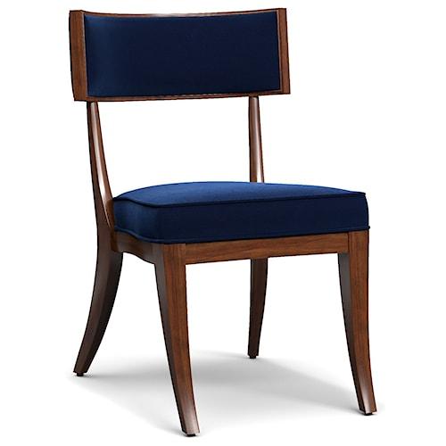 Cynthia Rowley for Hooker Furniture Cynthia Rowley - Sporty Perch Upholstered Klismos Chair