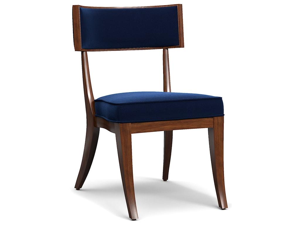 Cynthia Rowley for Hooker Furniture Cynthia Rowley - SportyPerch Upholstered Klismos Chair