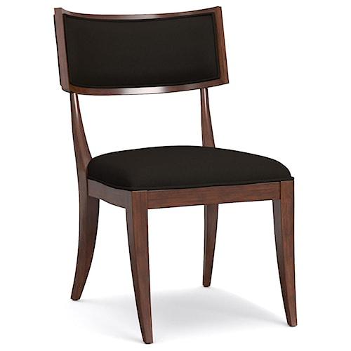Cynthia Rowley for Hooker Furniture Cynthia Rowley - Sporty Upholstered Klismos Chair