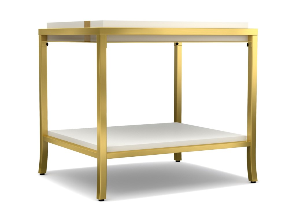 Cynthia Rowley for Hooker Furniture Cynthia Rowley - SportySide Stripe End Table