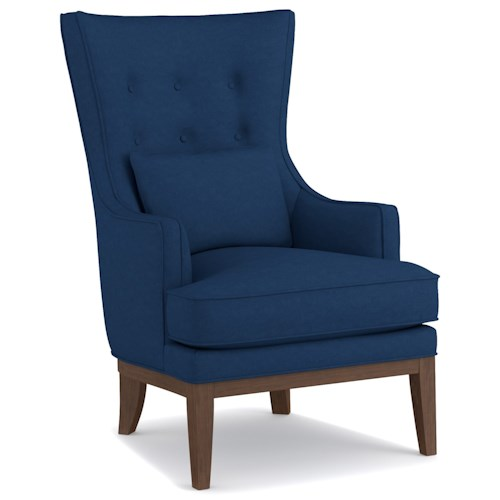Cynthia Rowley for Hooker Furniture Cynthia Rowley - Sporty Upholstery William Wing Chair