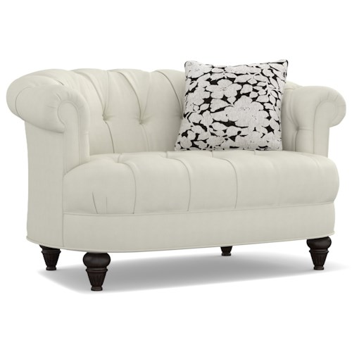 Cynthia Rowley for Hooker Furniture Cynthia Rowley - Sporty Upholstery Ludlow Settee