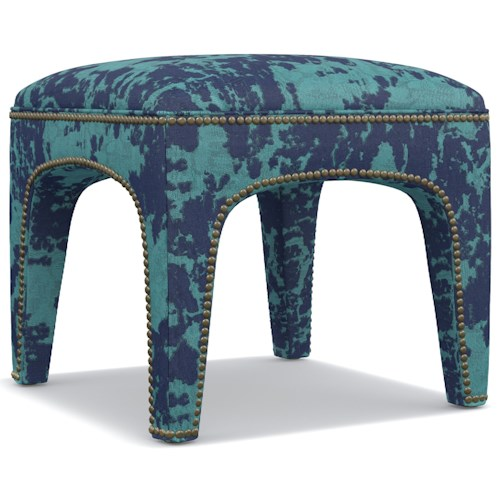 Cynthia Rowley for Hooker Furniture Cynthia Rowley - Sporty Upholstery Lulu Ottoman
