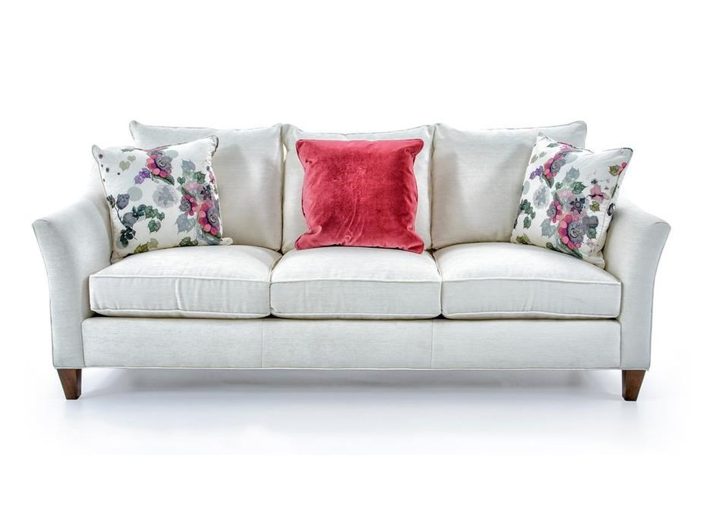Cynthia Rowley For Furniture Sporty Upholsterymercer 3 Over Sofa