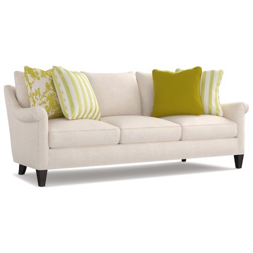 Cynthia Rowley for Hooker Furniture Cynthia Rowley - Sporty Upholstery Rivington 3 over 3 Sofa