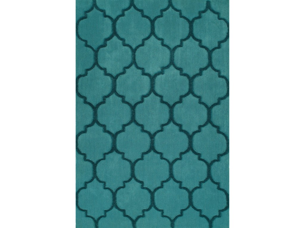 Dalyn DakotaTeal 8'X10' Area Rug