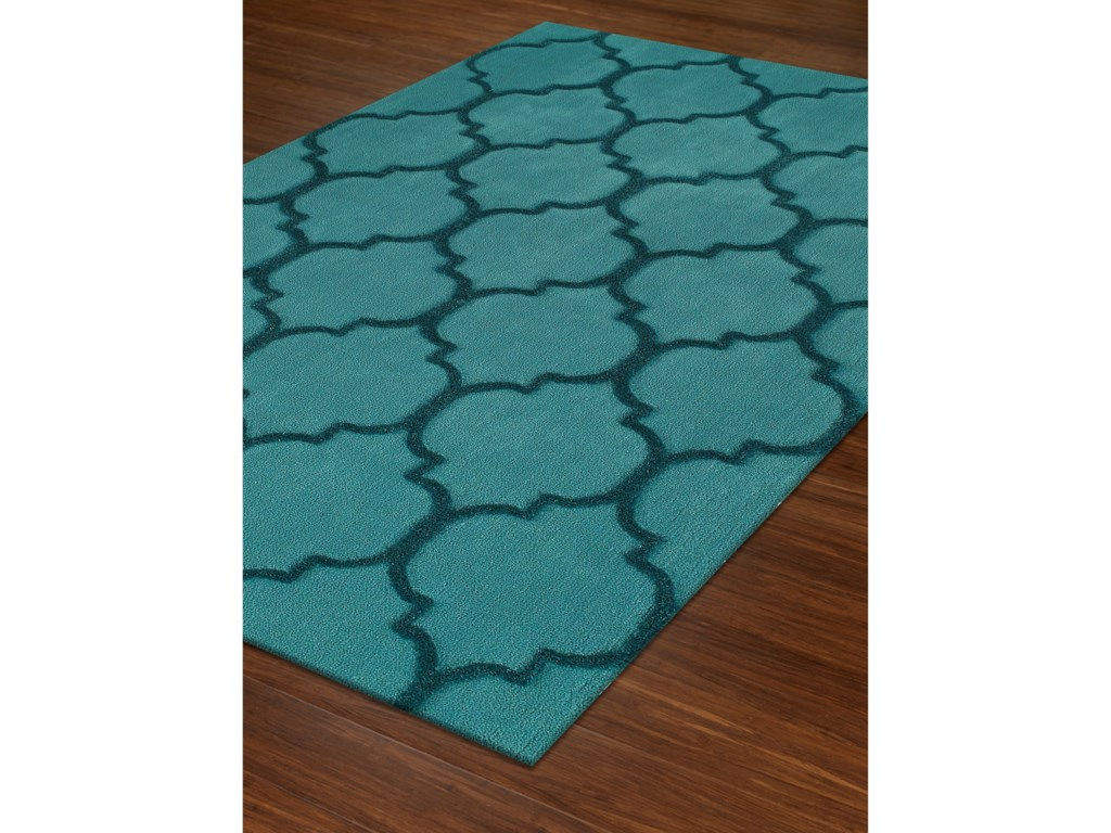 Dalyn DakotaTeal 9'X13' Area Rug