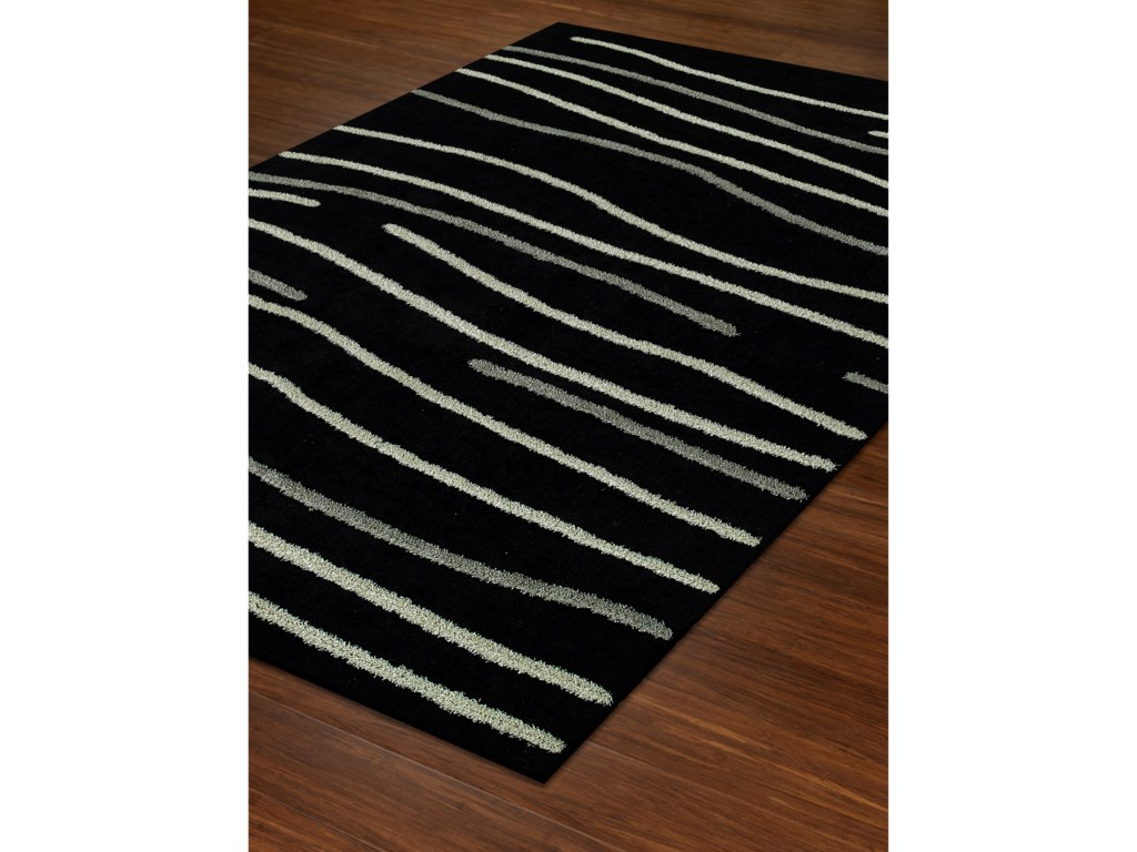 Dalyn DakotaBlack 9'X13' Area Rug
