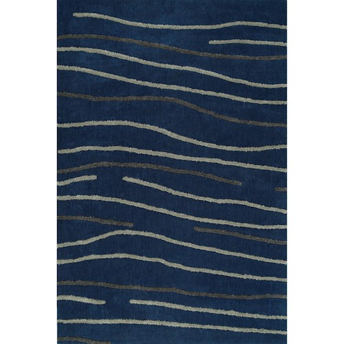 Dalyn Dakota Navy 9'X13' Area Rug