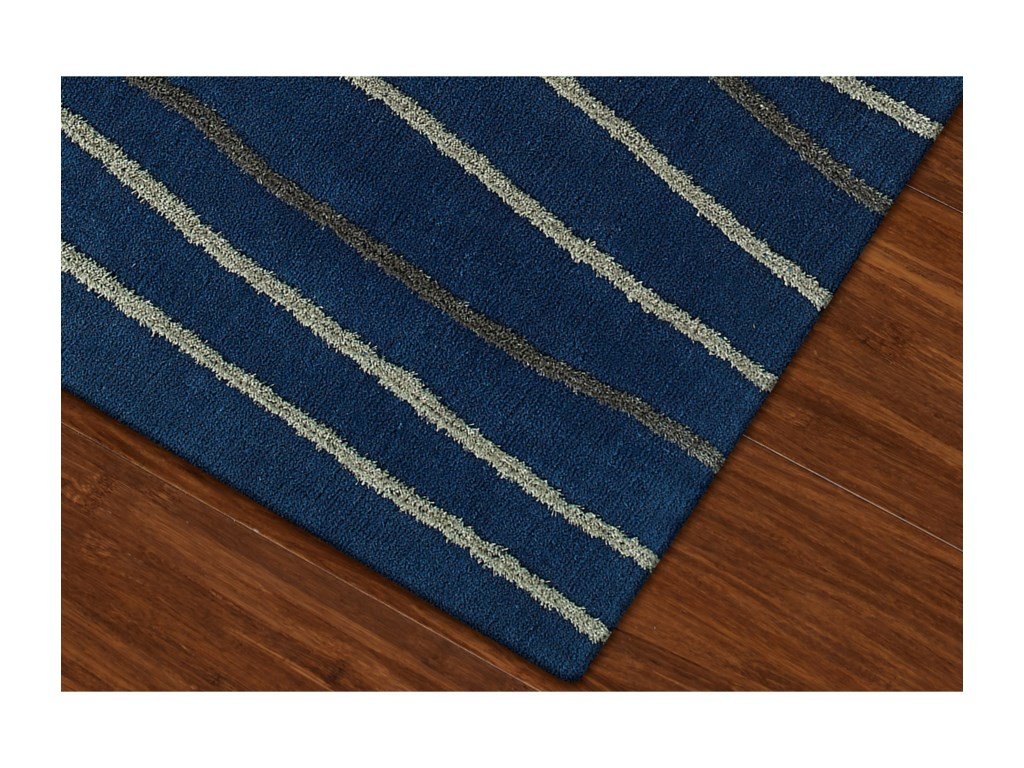 Dalyn DakotaNavy 9'X13' Area Rug