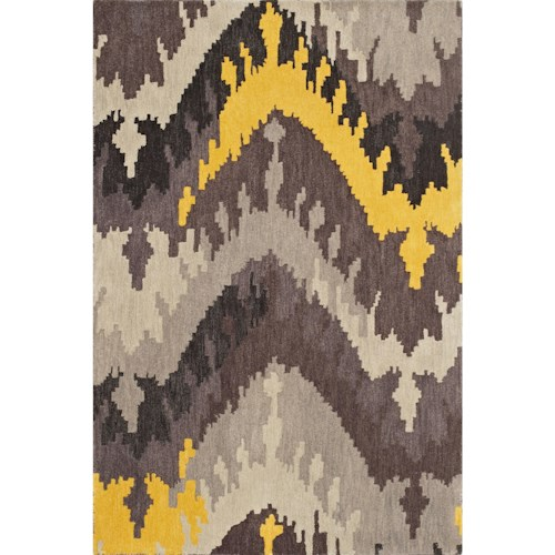 Dalyn Impulse Grey 9'X13' Rug