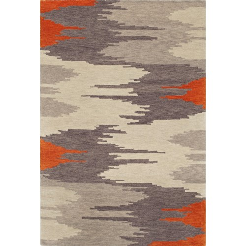 Dalyn Impulse Orange 8'X10' Rug