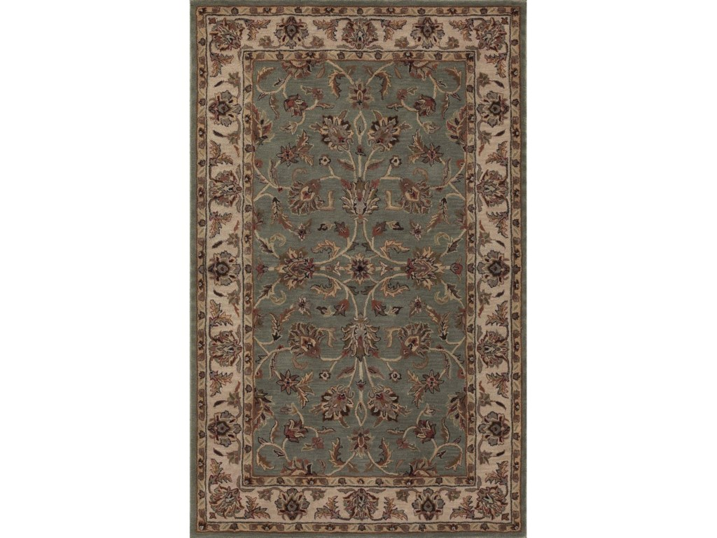 Dalyn JewelSpa Blue/Ivory 5'X8' Rug