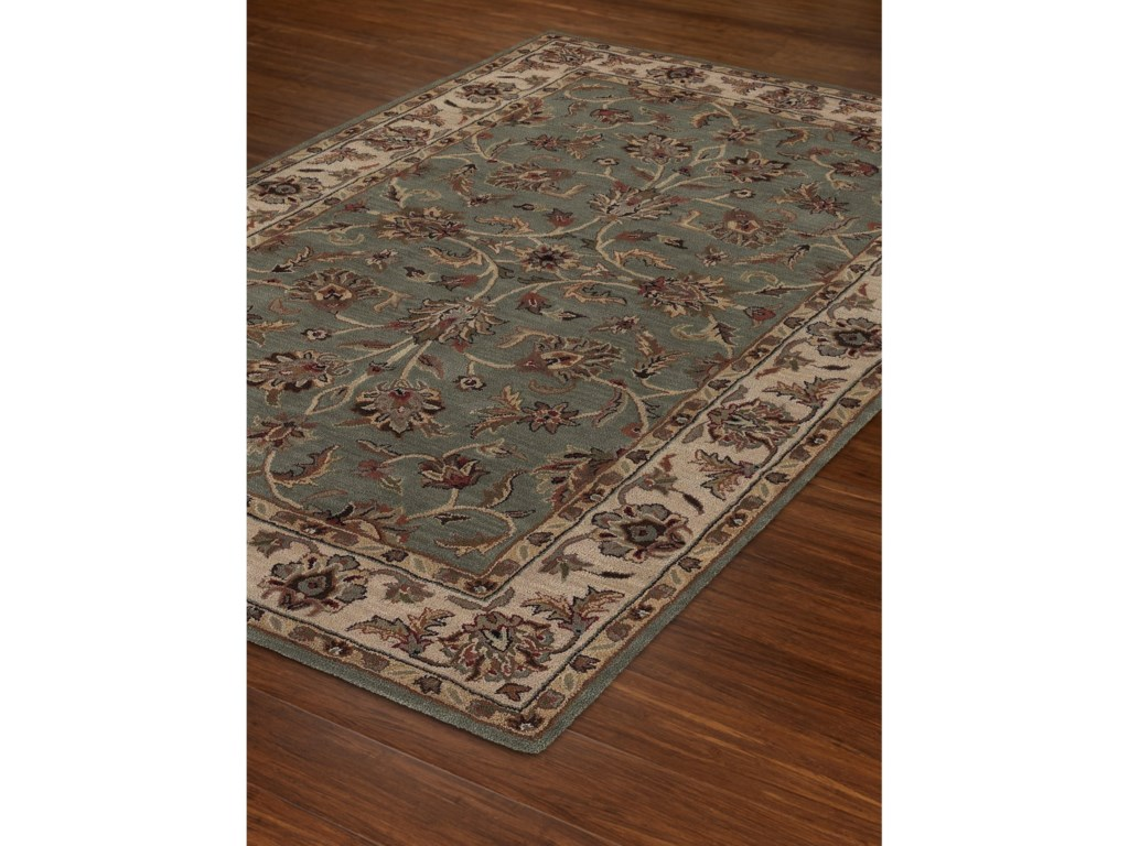 Dalyn JewelSpa Blue/Ivory 8'X10' Rug