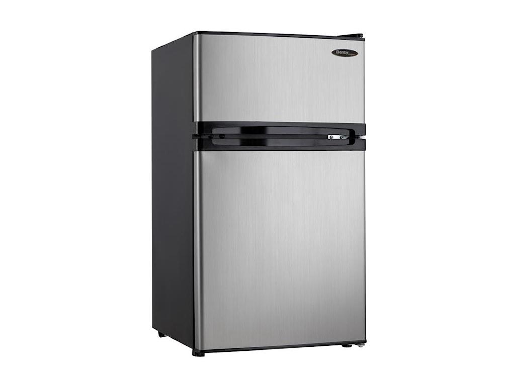 Danby Compact RefrigeratorsDual Door Compact Fridge