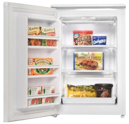 2 Quick Freeze Shelves and 3 Door Shelves