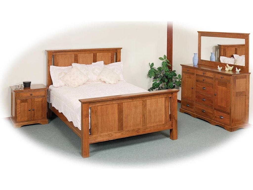 Daniel's Amish EleganceFrame Bed