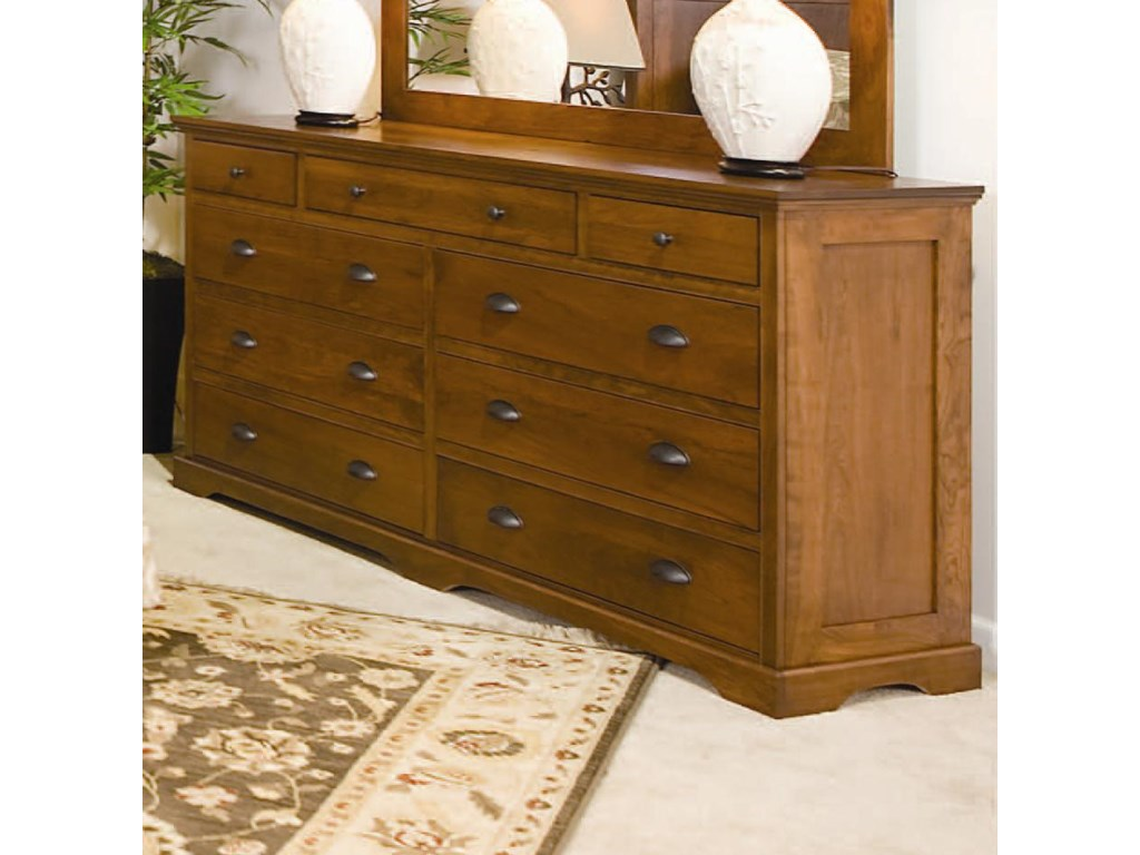 Daniel's Amish Elegance9-Drawer Double Dresser