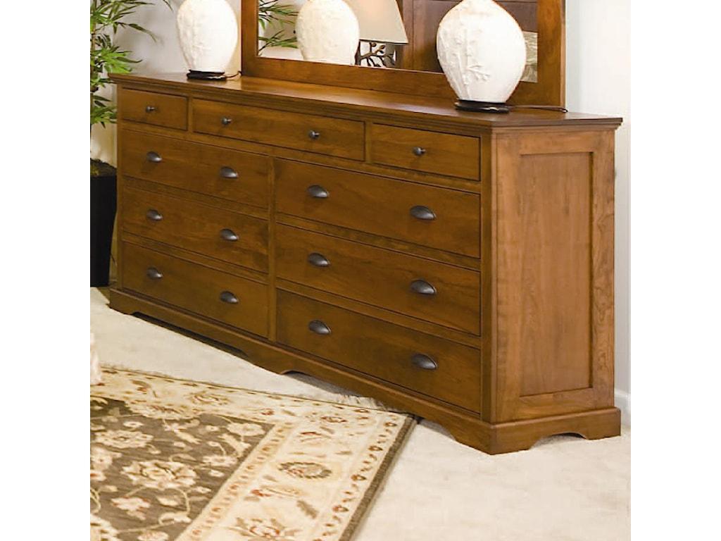 Daniel's Amish Elegance9-Drawer Double Dresser