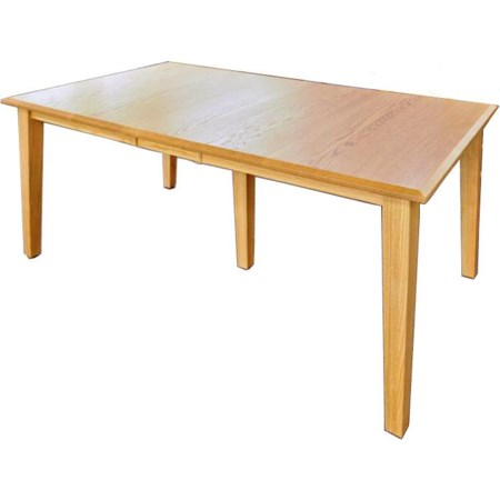 "42"" x 60"" Rectangle Table Top w/ 2 Leaves"
