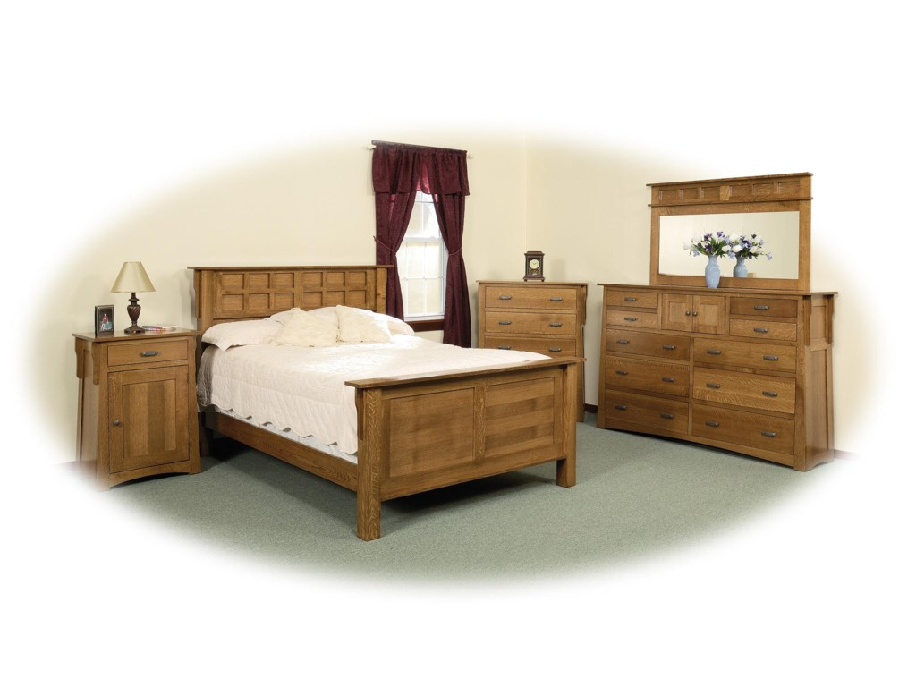Shown with Chest, Frame Bed & Nightstand