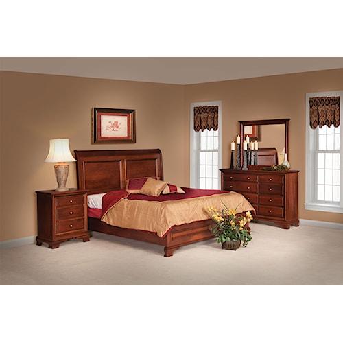 Daniel's Amish Classic Queen Bedroom Group 1