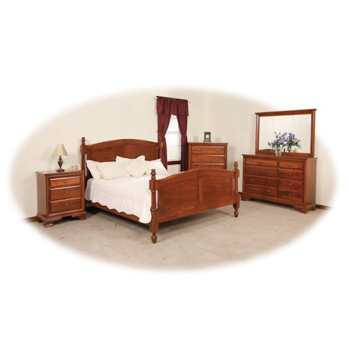 Daniel's Amish Classic King Bedroom Group 2