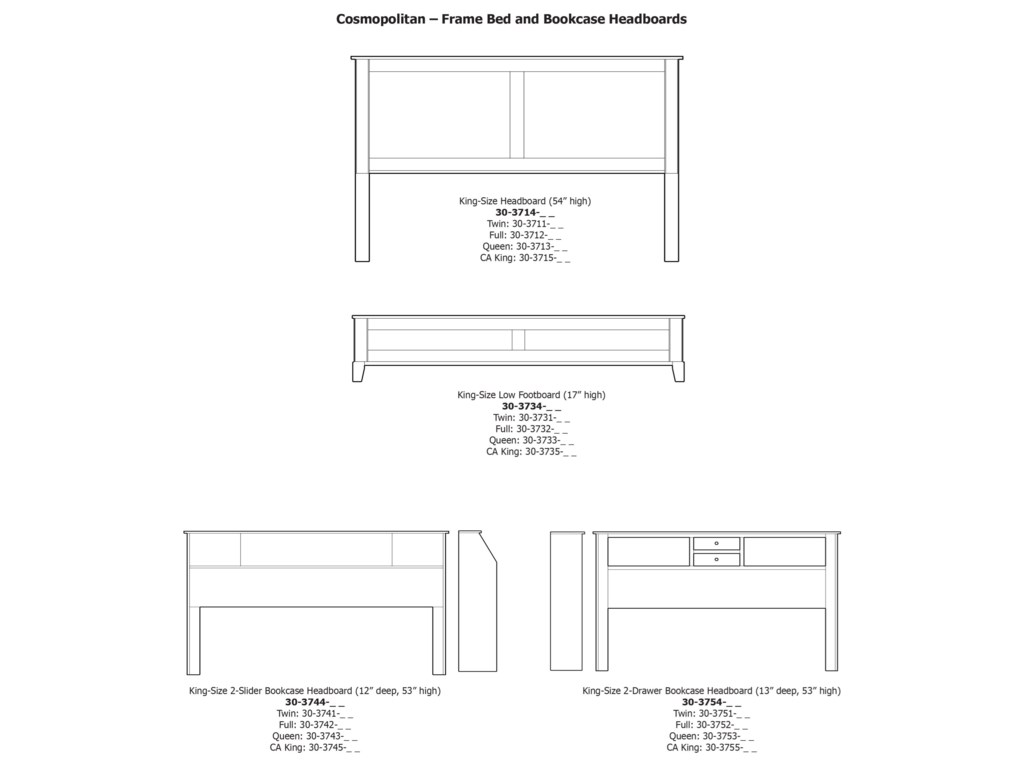Daniel's Amish CosmopolitanKing Pedestal Bed W/ Storage Drawers