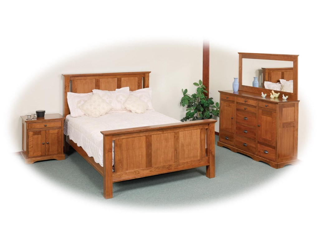Daniel's Amish EleganceQueen Bedroom Group